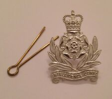 Intelligence Corps Officers Cap Badge, Metal, Army, Military, Hat, Int Corp