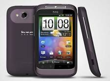 HTC Wildfire S Purple Viola Android Smartphone HTC Sense 5mp senza SIM-lock