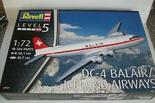 REVELL  DOUGLAS DC-4  BALAIR / ICELAND AIRWAYS  1:72  scale  kit