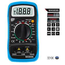 BSIDE MS830L Handheld Digital Multimeter AC DC Voltage Resistance Meter Tester