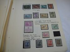 YUGOSLAVIA MINT/USED COLLECTION ON ALBUM LEAVES, APPROX 500 STAMPS & MINI SHEETS