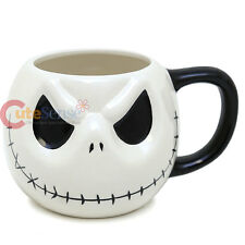 Disney Nightmare Before Christmas Jack Face Ceramic Mug Coffee Cup 20th NBC