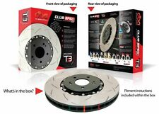 DBA T3 4000 Series DBA42850S Slotted Brake Rotors FIT BMW E46 M3 - FRONT PAIR