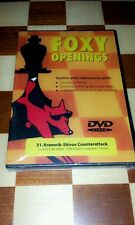CHESS DVD FOXY OPENINGS # 31 KRAMNIK-SHIROV COUNTERATTACK GM STUART CONQUEST