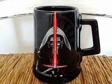 New Disney Store Kylo Ren Star Wars Black Ceramic Coffee Mug NWT