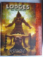 Lodges - the Faithful Werewolf: The Forsaken Hardcover WoD white wolf horror RPG
