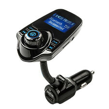 LCD Wireless FM Transmitter &USB Charger & Handsfree Bluetooth &MP3 Player New