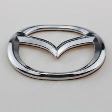 3D Logo Steering Wheel Emblem Badge Decal For Mazda 3 Head & Tail Mark Sticker