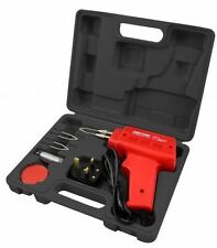 """LOOK"" Dekton 100W 240V Soldering Gun Set With Bright Lamp & Accessorie UK STOCK"