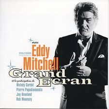 ★☆★ CD Eddy MITCHELL Grand Ecran - Mini LP - CARD SLEEVE 16-tr Melody Gardot