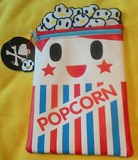 TOKIDOKI POPCORN PENCIL CASE MAKE-UP BAG CUTE KAWAII GIFT SCHOOL COLLEGE UNI