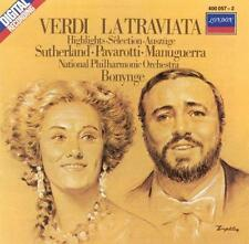 Verdi - La Traviata / Sutherland · Pavarotti · Bonynge [highlights] 1983 by Gi