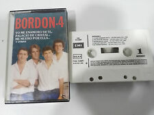 BORDON 4 GRANDES EXITOS - CASSETTE TAPE CINTA EMI 1986