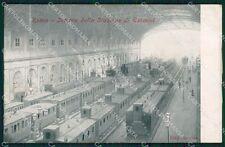 Roma Città Stazione Termini Treno Alterocca 2953 cartolina QT2085