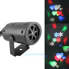 Outdoor LED Laser Snowflake Moving Light Xmas Party Garden Landscape Projector