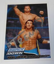 Trent Barreta Signed 2010 WWE Topps The Dude Busters Card #75 Autograph ROH NJPW