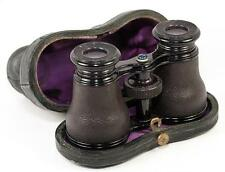Antique French LeMaire - Paris Opera Glasses, Binoculars in Leather, Orig. Case