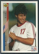 UPPER DECK WORLD CUP USA 1994- #013-UNITED STATES/USA & COVENTRY-ROY WEGERLE