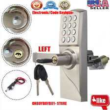 Digital Electronic/Code Keyless Keypad Security Entry Door Lock LEFT Handle OH