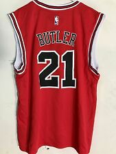 Adidas NBA Jersey Chicago Bulls Jimmy Butler Red Latin Nights sz L