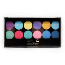 MUA Makeup Academy Poptastic Eyeshadow Palette 12 Colors 9.6g New Sealed