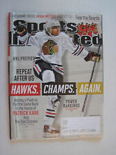 Sports Illustrated V119N13 - Repeat After Us Hawks. Champs. Again. - 30-Sep-2013