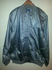 ORISUE CULVER NYLON JACKET/GRAY/FULL ZIP/PUSH SNAP BUTTONS/2 POCKETS/2XL