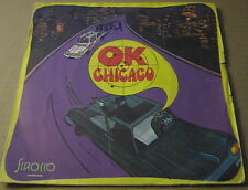 "RESONANCE - OK CHICAGO- FRENCH PS - hard Euro Library Funk 7"" compiled -HEAR"