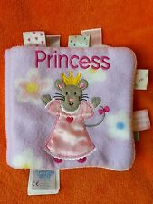 Taggies cartwheel books princess mouse cloth book with tags