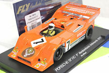 FLY A168 PORSCHE 917 / 10 JAGERMEISTER NEW 1/32 SLOT CAR IN DISPLAY VIC ELFORD