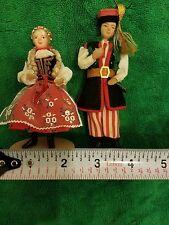 Vintage Polish Maiden & Man Spoldzielnia Pracy St. Wyspianiskiego W Krakowie
