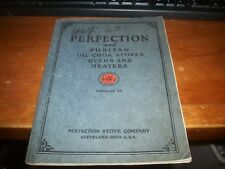 1927 PERFECTION OIL BURNING STOVES/RANGES/WATER HEATERS SALE CATALOG ADVERTISING