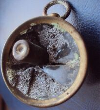 WW1 BULLET SHOT THROUGH A COMPASS -TRENCH ART STYLE