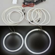 4x HID 6000k white CCFL Angel Eye Mark Halo Ring light For Ford Mondeo 2002-2005