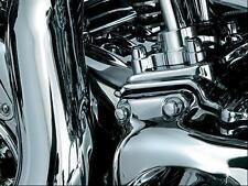 Kuryakyn 8694 Rear Cylinder Base Chrome Cover Harley Dresser Models 2009-2015