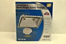 Cordelia Lighting PH1185-06 Quartz Halogen Floodlight 500W With Motion Sensor