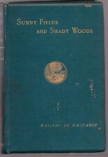 Countess Agenor de Gasparin (Valerie Boissier) - Sunny Fields - 1st Ed 1888