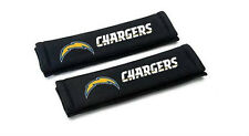 SAN DIEGO CHARGERS 2 VELOUR SEAT BELT LAPTOP GYM BAG SHOULDER PADS NFL FOOTBALL