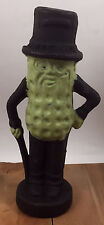 Peanut Man Statue Paper Weight Cast Iron Vintage Style Replica