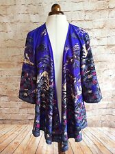 Great Plains London Kimono Jacket Purple Japanese Design Medium