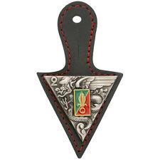 insigne de poitrine régimentaire + cuir du 2°REP Légion Étrangère  - Y.DELSART