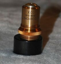 Old Bausch and Lomb Apochromate 16 mm 0.30 10X Microscope Objective