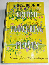 A Handbook of British Flowering Plants HC 1959 U.S edition Melderis Bangerter DJ