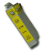 1 Yellow Compatible Non-OEM T0794 'Owl' Ink Cartridge with Epson Stylus PX730WD