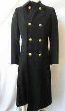 Vintage 1957 Womens US Navy Military Long Coat, US Naval Uniform Shop Brooklyn