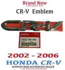 """Genuine OEM Honda CR-V Rear """"CRV"""" Emblem"""