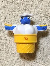 Vintage 1990 McDino Ice Cream Cone Food Changeables Transformer McDonald's Toy