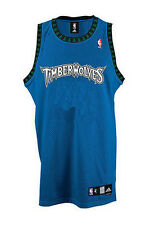 Adidas NBA Basketball Men's Minnesota Timberwolves Authentic Blank Jersey