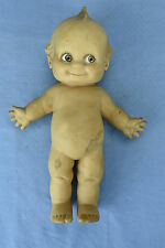 "Vintage CAMEO STANDING 11"" KEWPIE RUBBER DOLL with SQUEAKER WORKS NAKED"