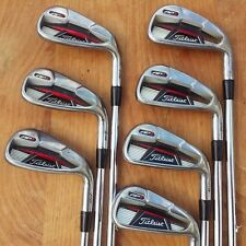 Titleist AP1 710 Iron Set 4-PW, Titleist NS PRO 105T Regular Flex Steel Shafts!